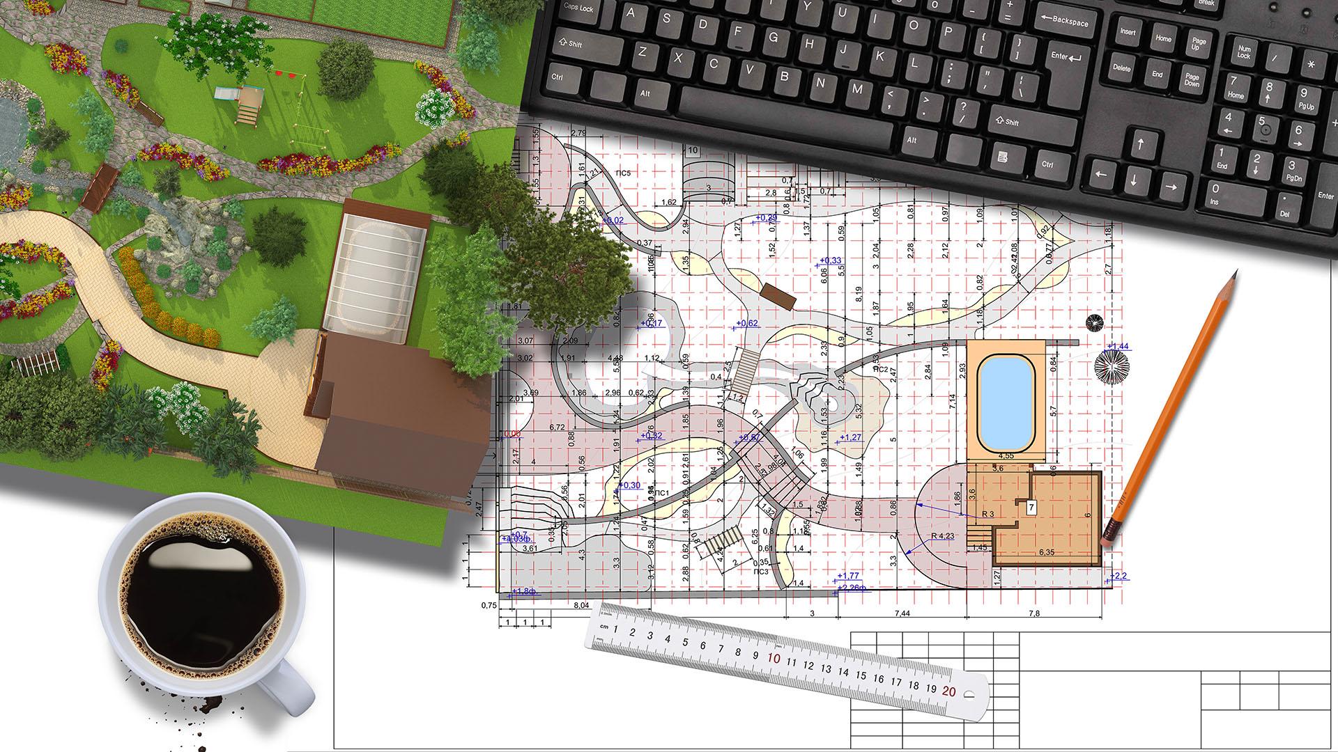 Cтатья Ландшафтный дизайн дачного участка»